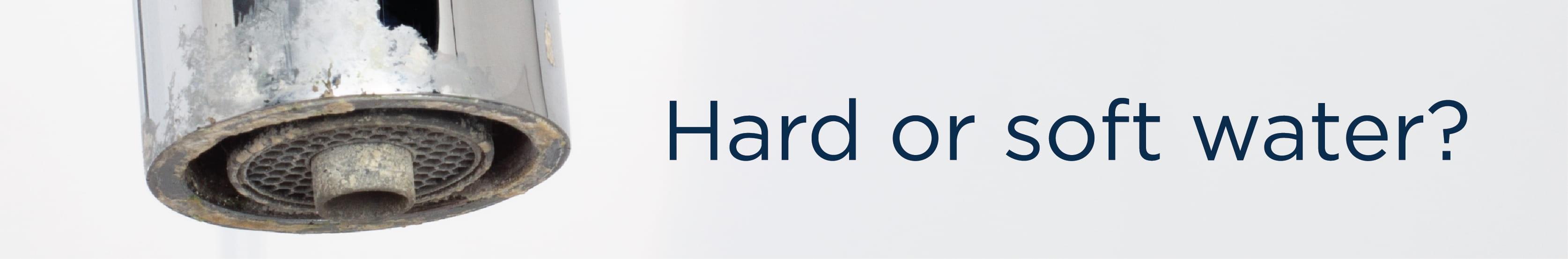 Hard water map
