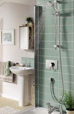 Acute Recessed Shower, Bristan