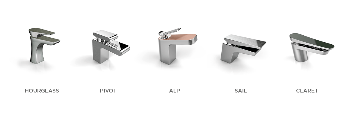 Metallix range of Taps and Showers