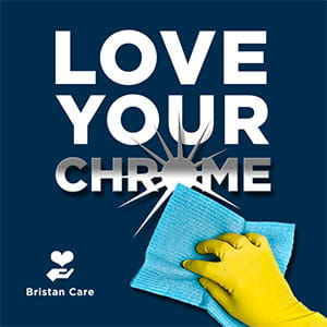 love your chrome taps