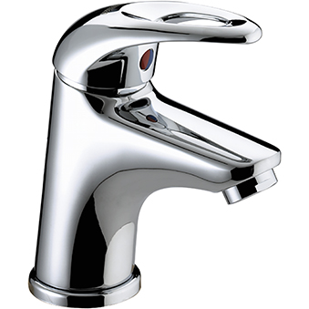 Cloakroom Basin Mixer with Clicker Waste
