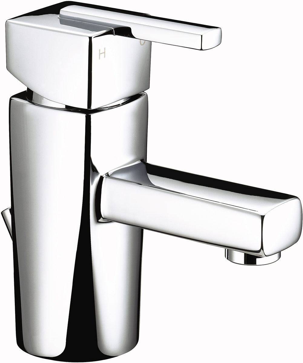 Mini Basin Mixer with Pop-up Waste