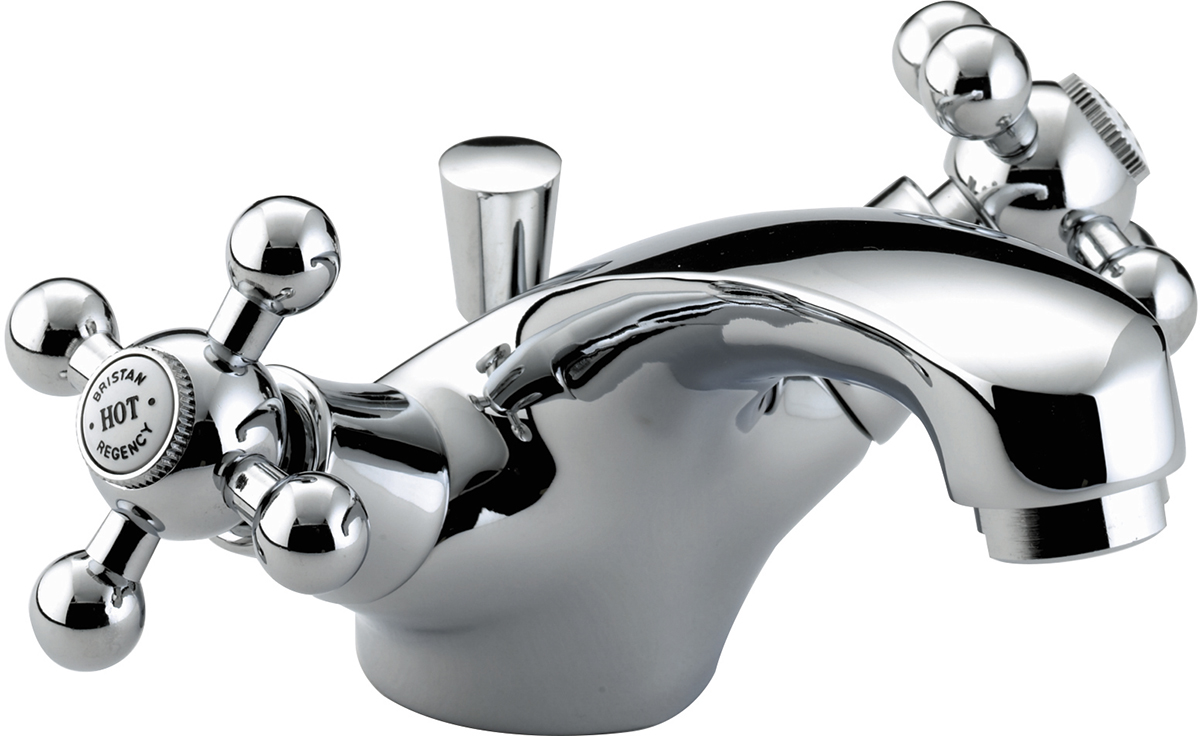 Basin Mixer with Pop-up Waste