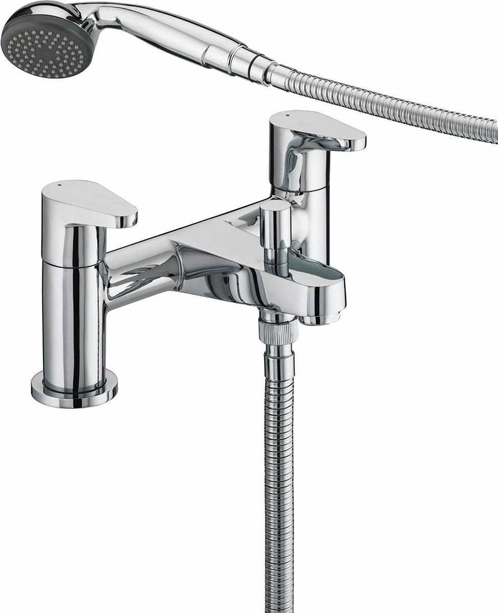 Quest Bath Shower Mixer Chrome Plated | Taps | Bristan