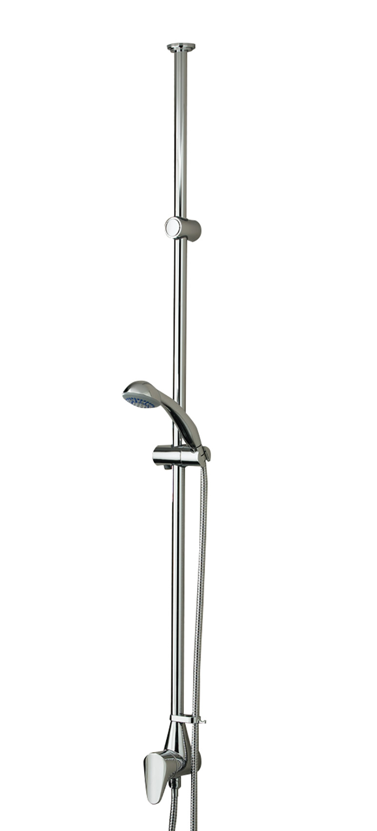 Thermostatic Exposed Ceiling Fed Shower