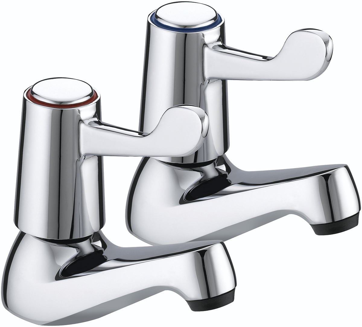 "Basin Taps with 3"" (76mm) Levers"