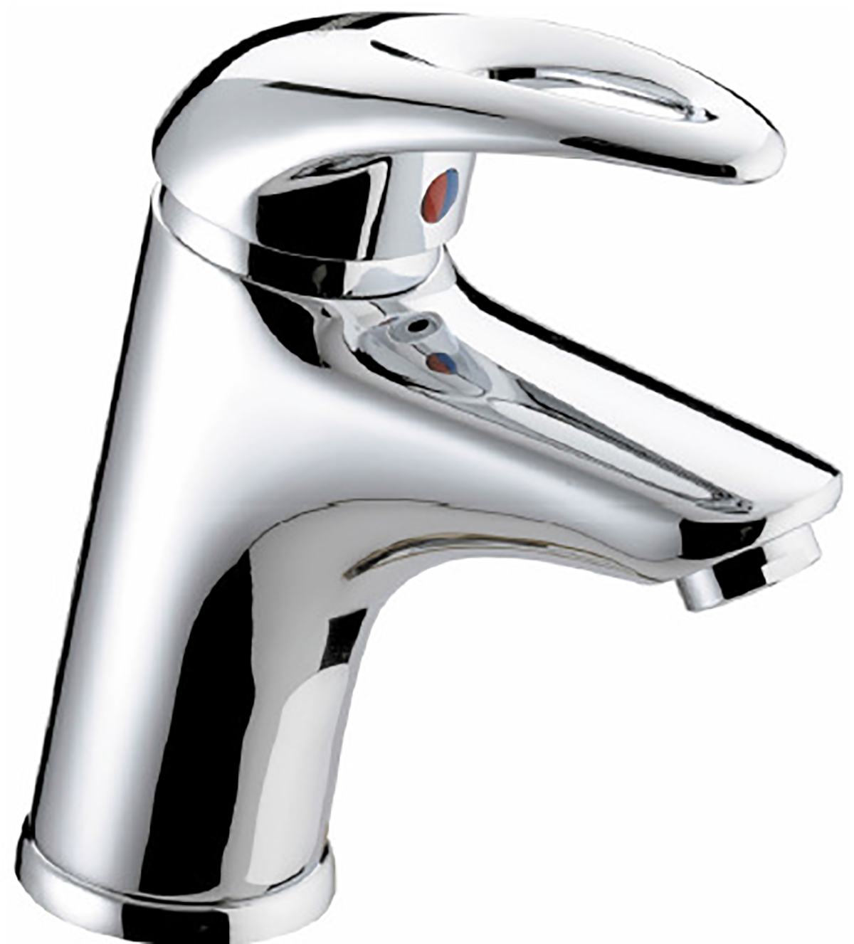 Basin Mixer with Clicker Waste - 4 Litre Flow Limit