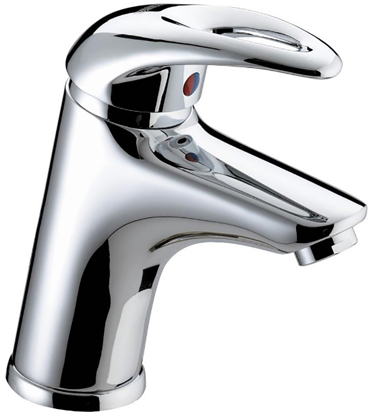 Basin Mixer with Clicker Waste - 6 Litre Flow Limit