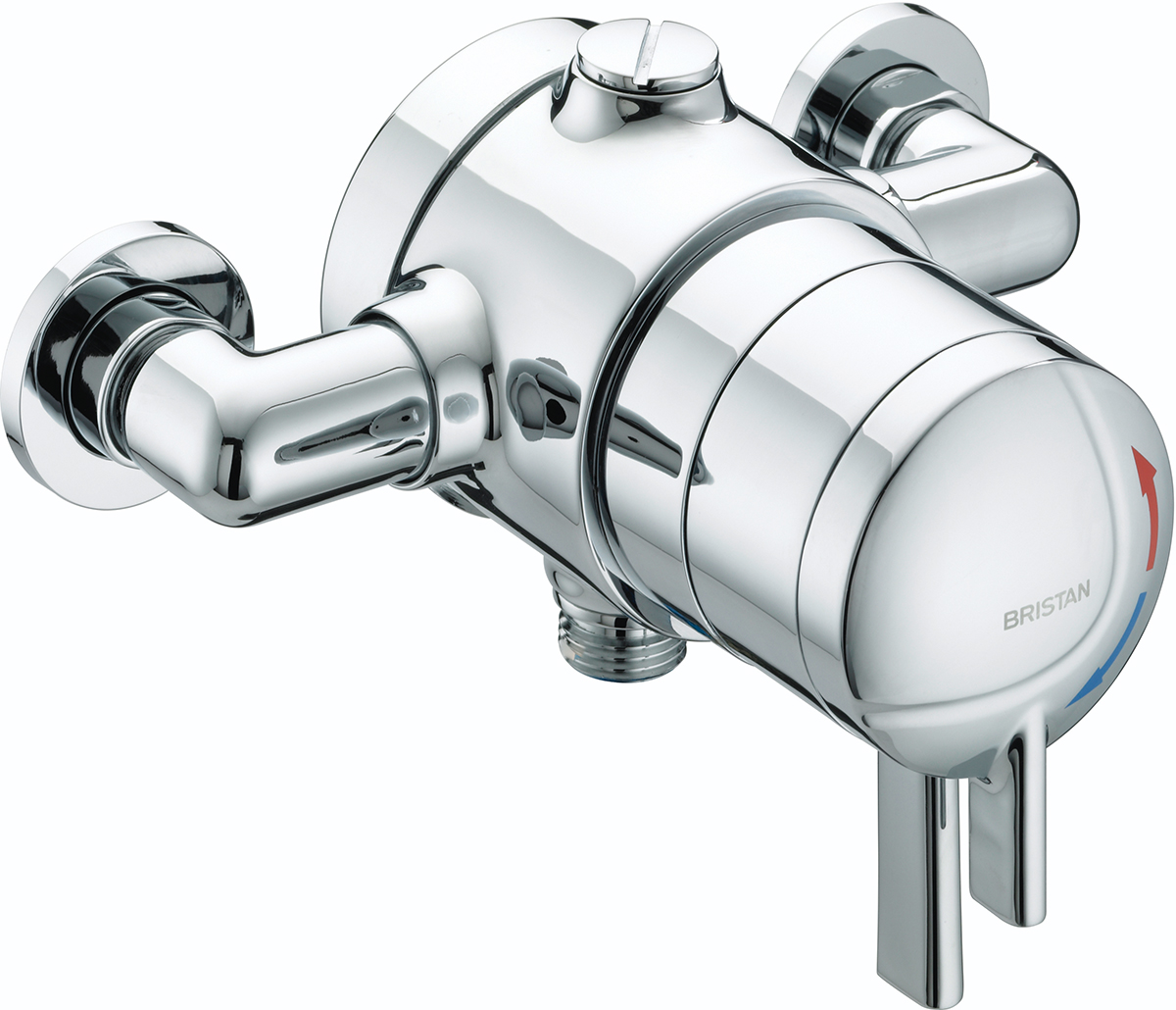 Exposed Shower Valve with Lever Handle