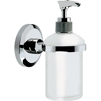 Wall Mounted Frosted Glass Soap Dispenser