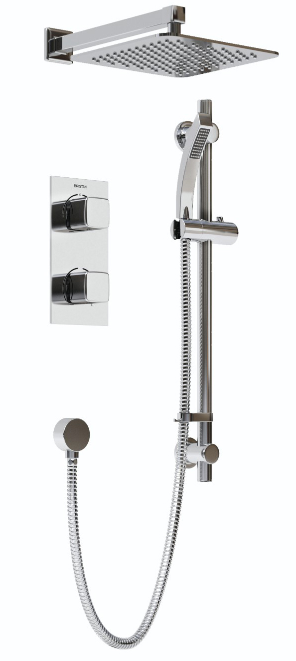 Recessed Concealed Dual Control Shower Pack