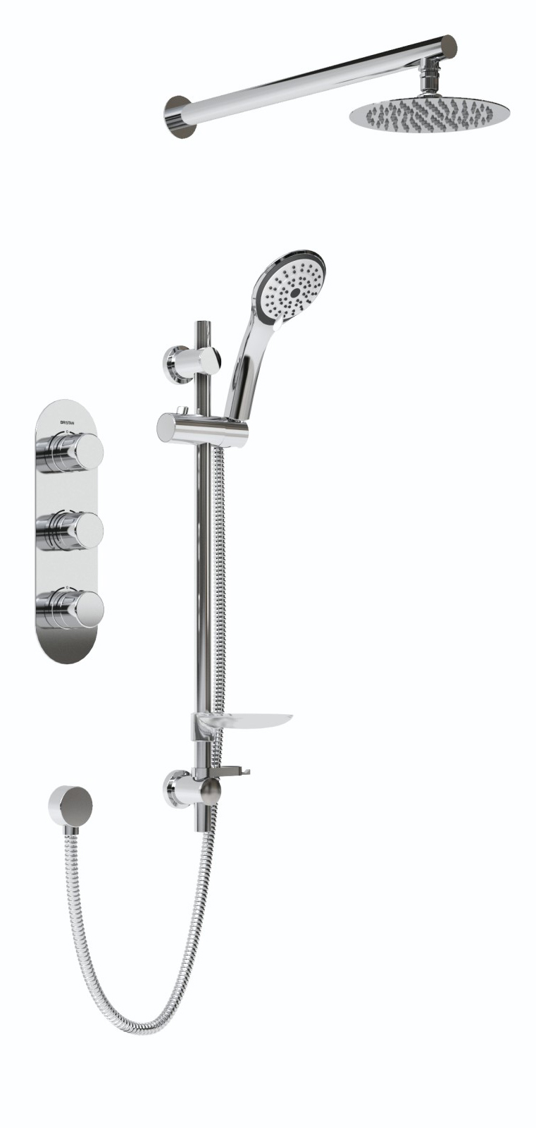 Shower Pack with Fixed Head and Kit