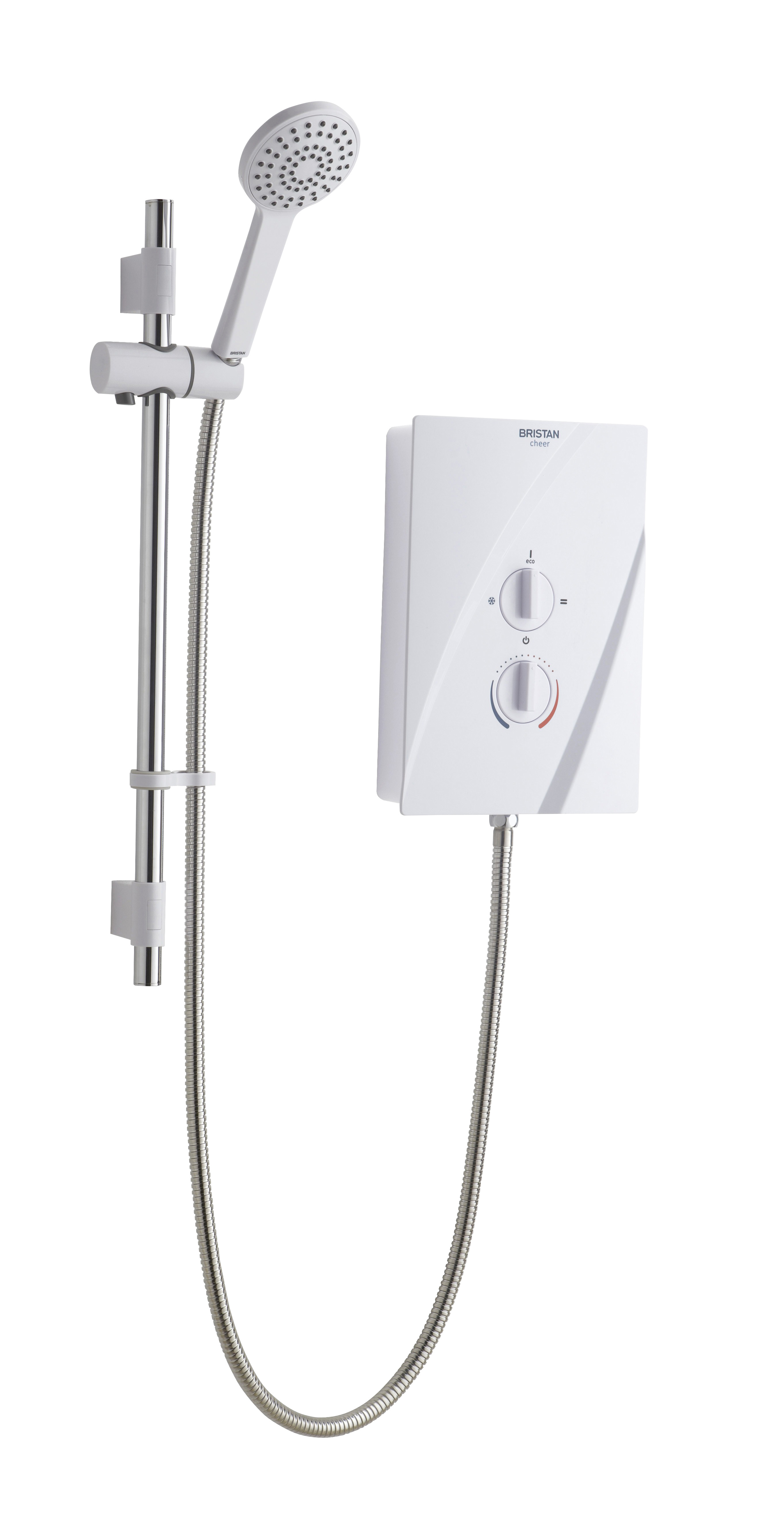 Electric Shower 8.5kW - White