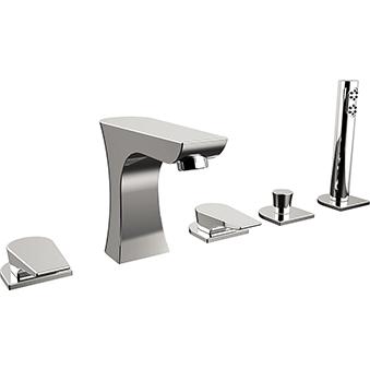 5 Hole Bath Shower Mixer