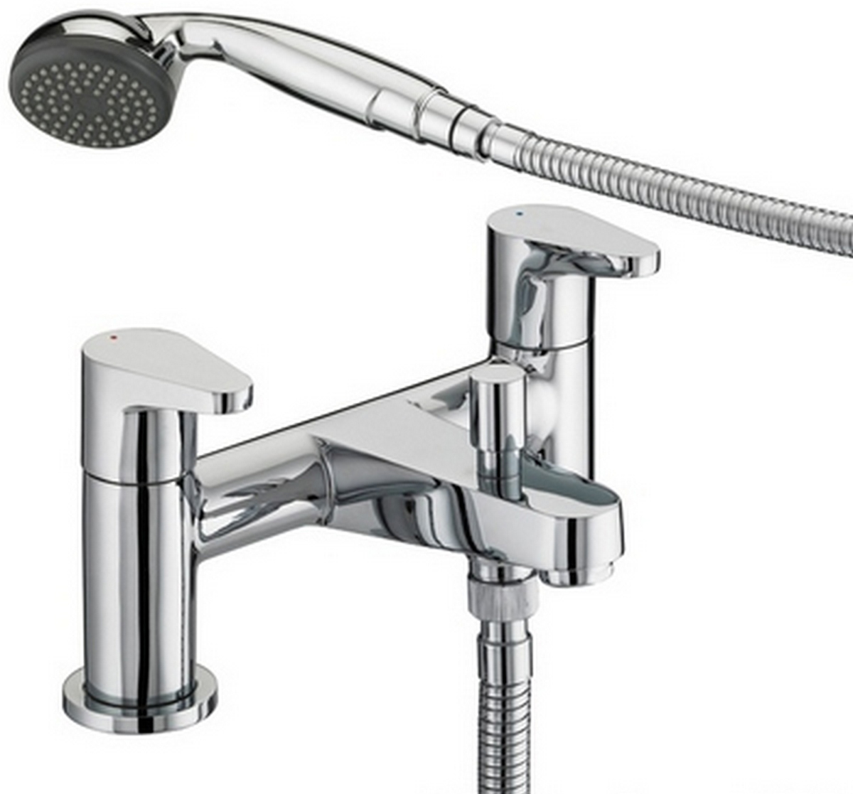 Bath Shower Mixer - 8 Litre Flow Limit