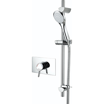 Thermostatic Recessed Concealed Mini Valve Shower