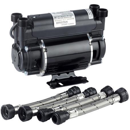 1.5 Bar Twin End Shower Pump