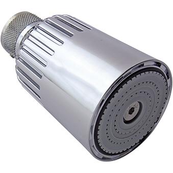 Swivel Showerhead with Vandal Resistant Screw Fixing