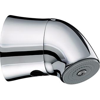 Exposed Vandal Resistant Adjustable Showerhead