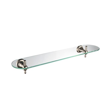 Glass Shelf - Gold