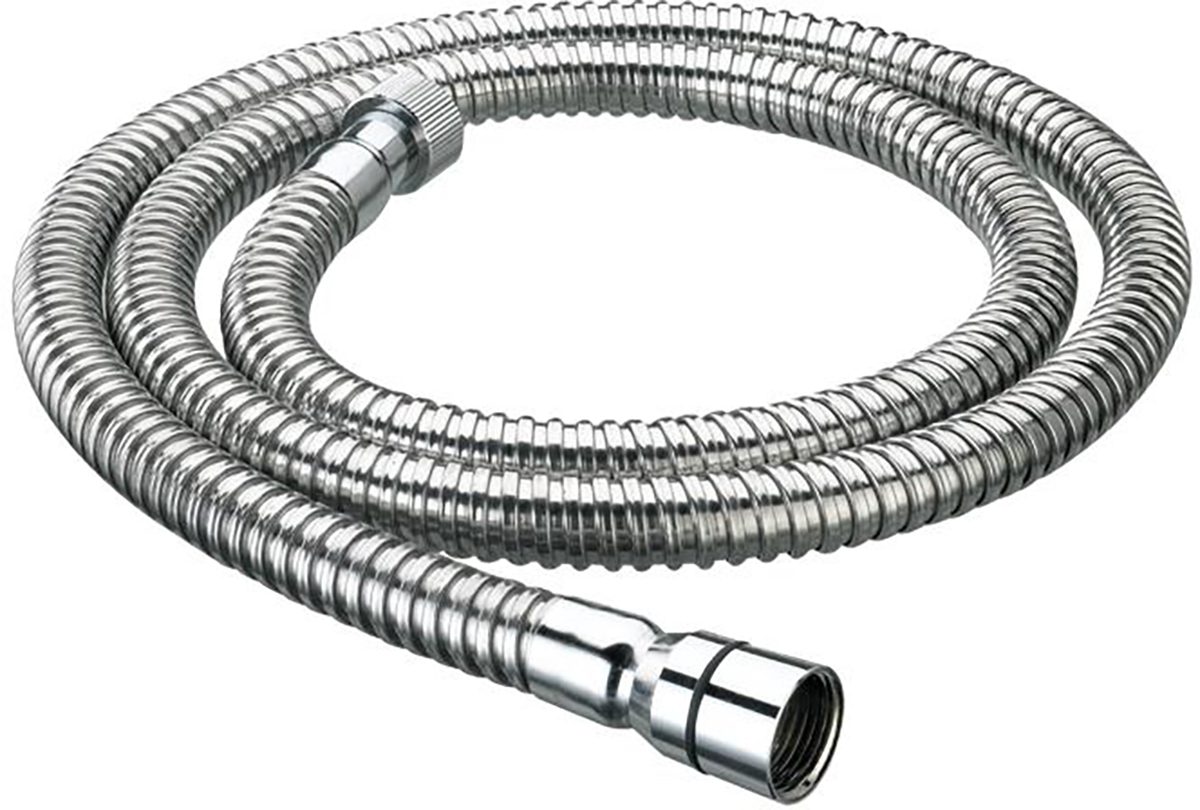 1.25m Cone to Nut Shower Hose - 8mm Bore