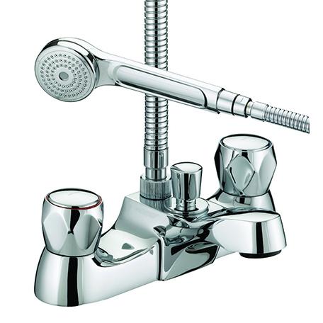 Luxury Bath Shower Mixer - 8 Litre Flow Limit