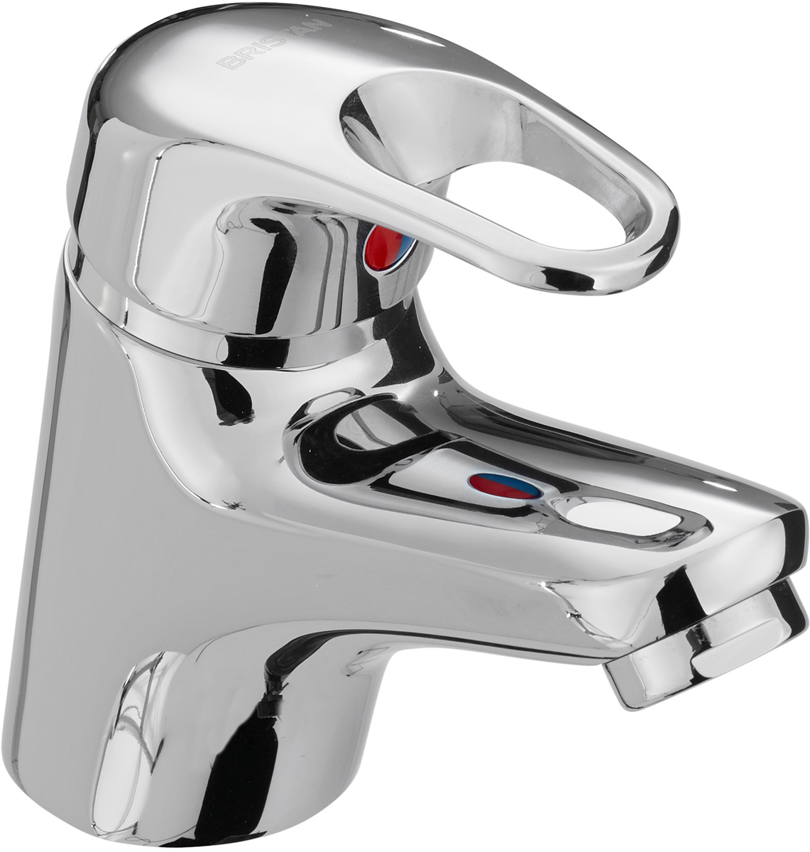 Basin Mixer with Clicker Waste