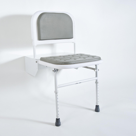 DocM Shower Seat with Legs - White