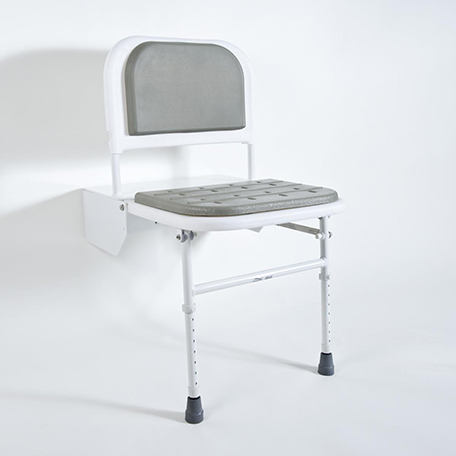 DocM Shower Seat with Legs - Blue