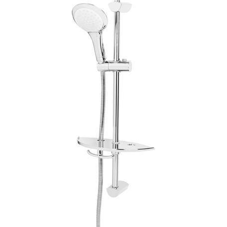Economy Single Function Slide Bar Shower Kit