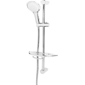 Single Function Extended Slide Bar Shower Kit