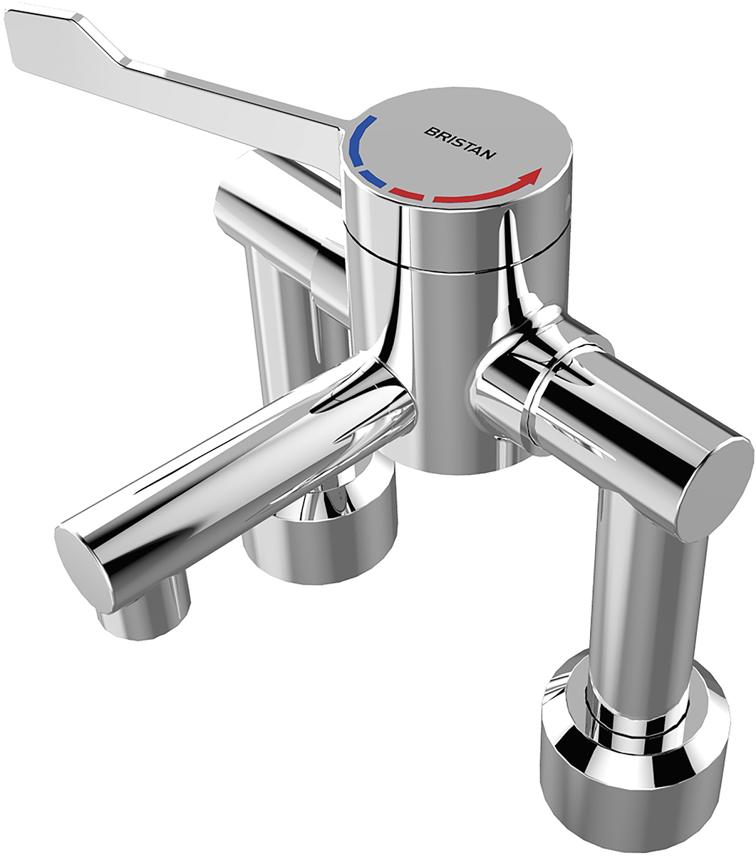 TMV3 Single Control Hospital Basin Mixer Tap (Deck Mounted)