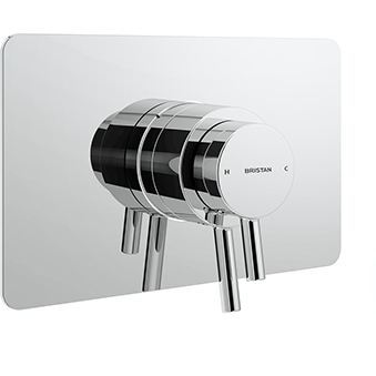 Recessed Concealed Dual Control Shower Valve