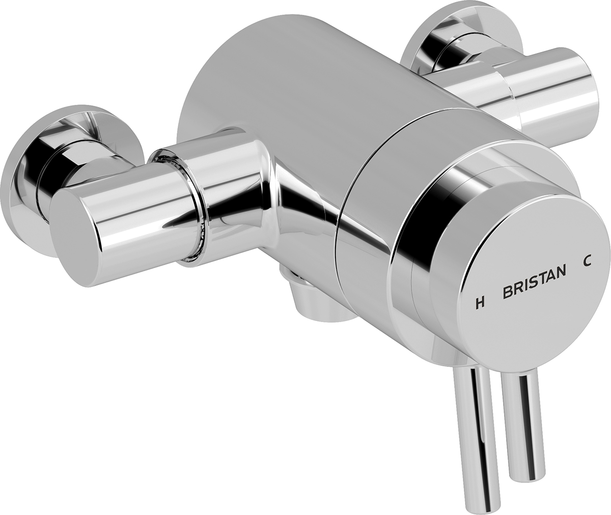 Exposed Dual Control Shower Valve (Bottom Outlet)