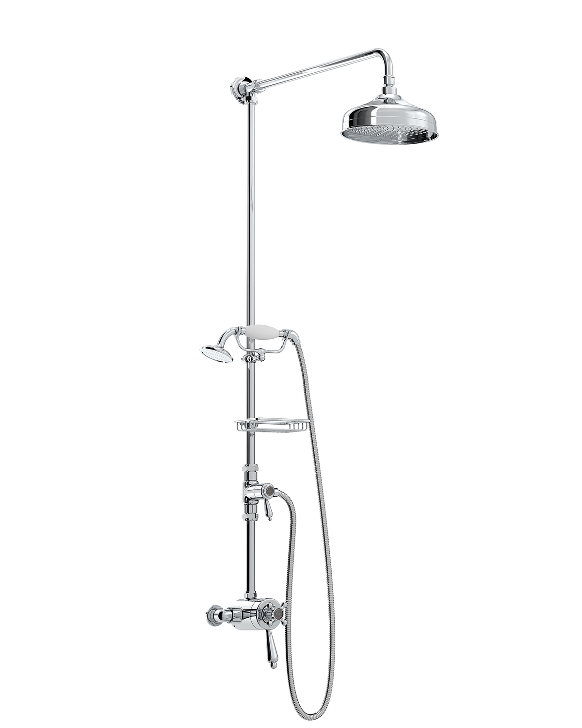 Thermostatic Shower with Diverter