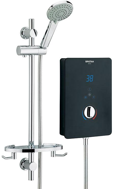 Electric Shower 10.5kW - Black