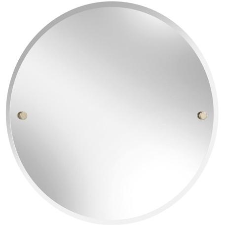 Round Mirror 610mm - Gold