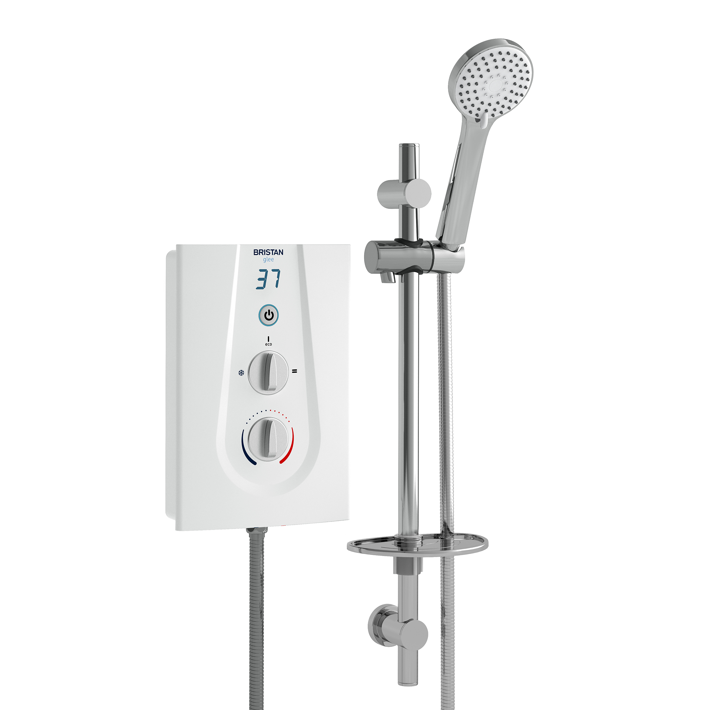 Electric Shower 10.5kW - White