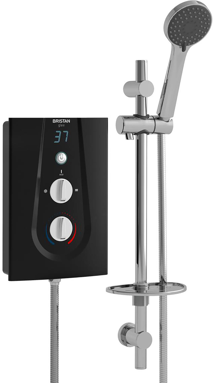 Electric Shower 9.5kW - Black