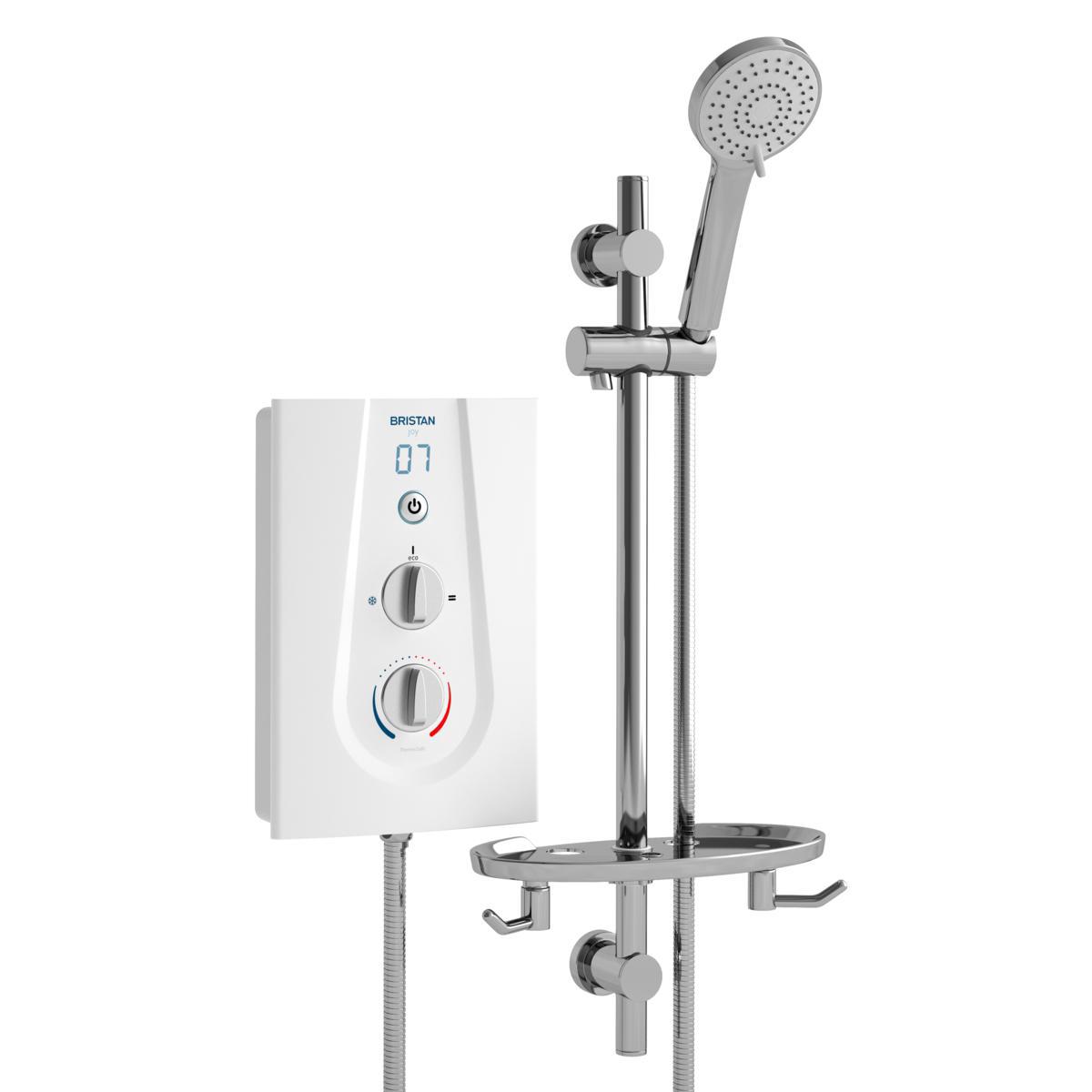 Thermostatic 9.5kW - White