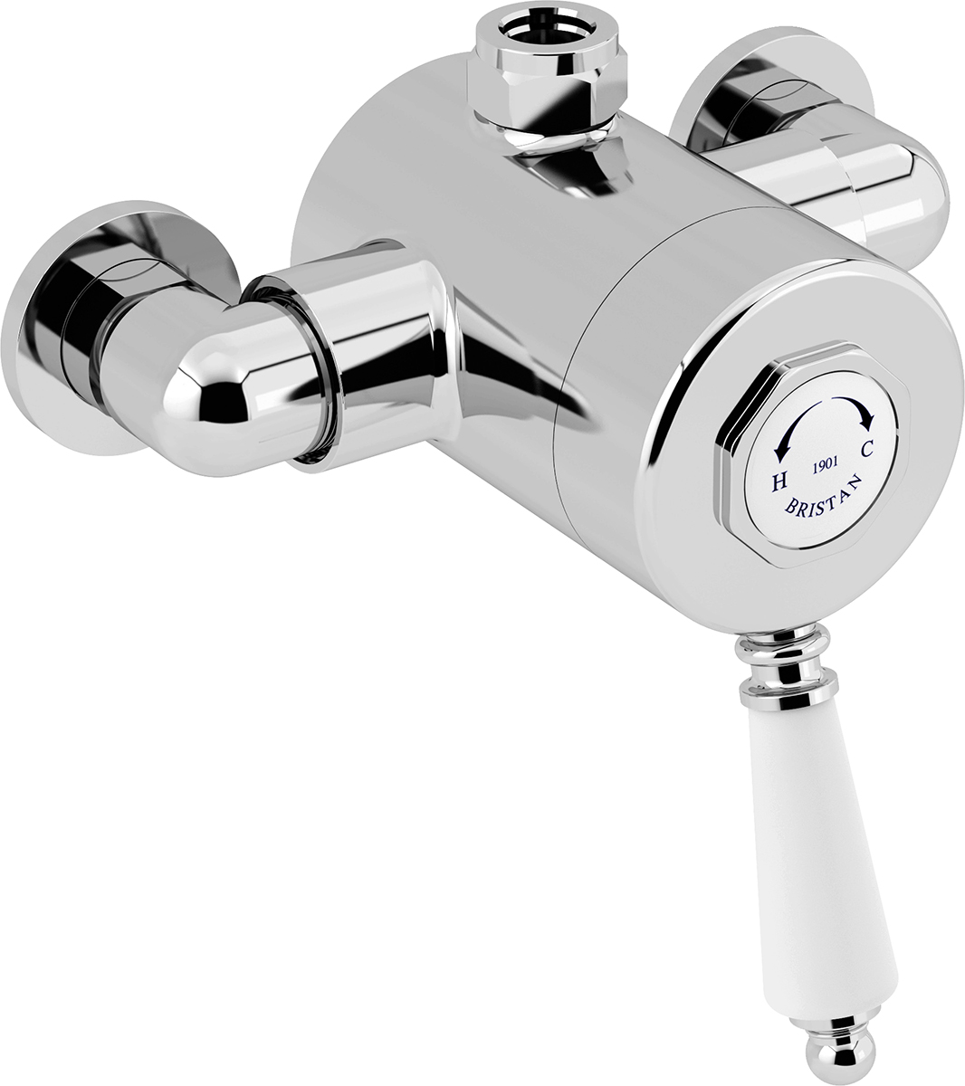 Exposed Single Control Shower - Top Outlet