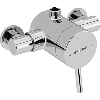 Exposed Single Control Shower (Top Outlet)