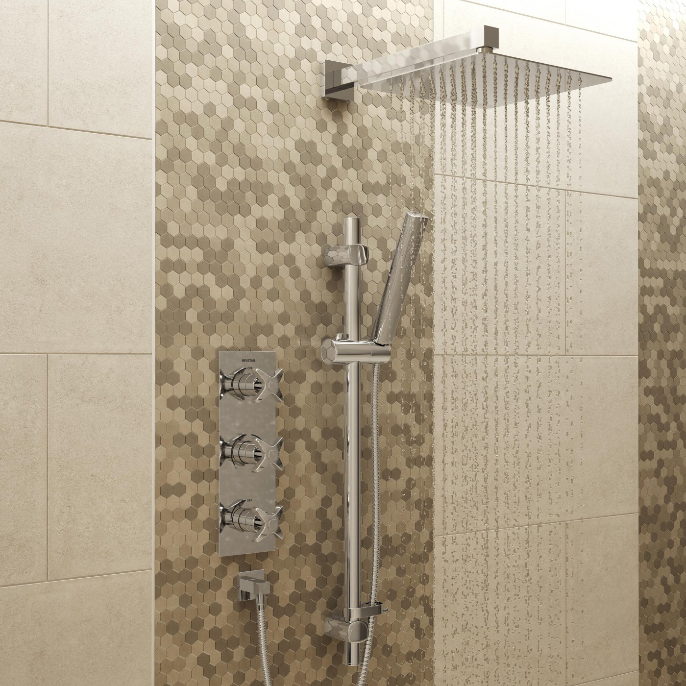 Glorious Shower Kit Shower Packages Bristan