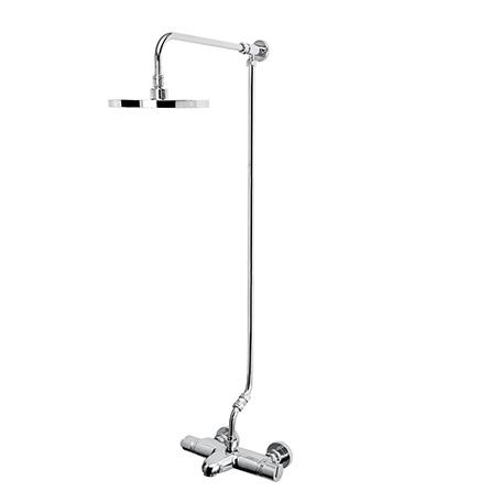 Thermostatic TMV2 Bath Shower Mixer with Rigid Riser