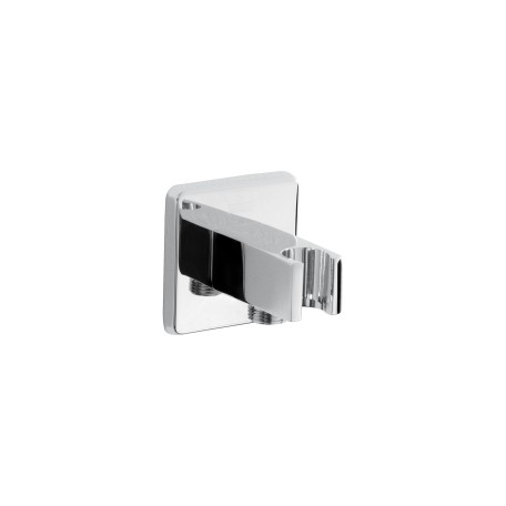 Contemporary Square Wall Outlet with Handset Holder Bracket