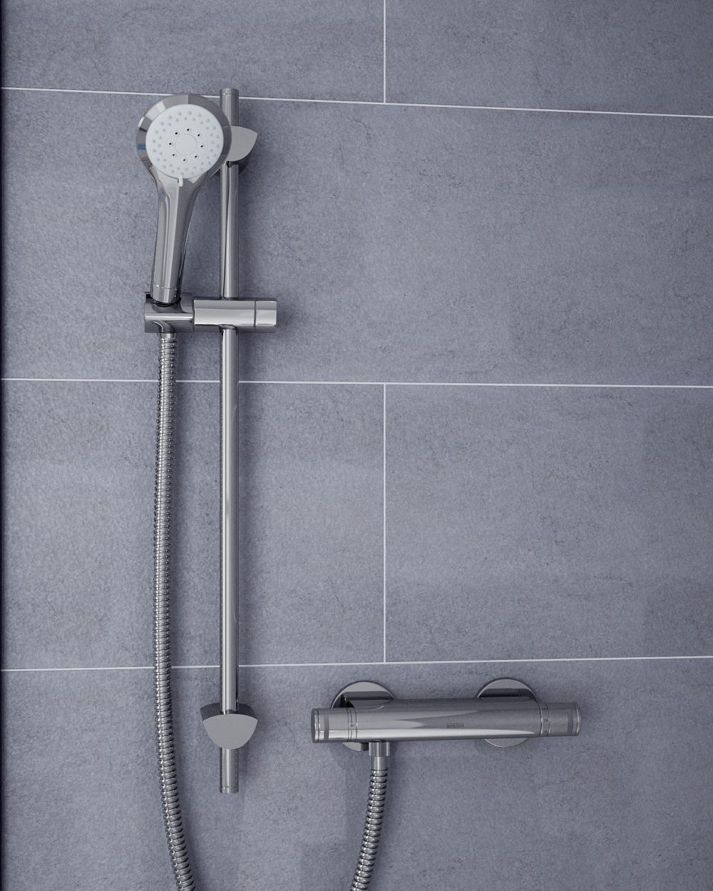 Artisan Bar Shower with Wallmount 12