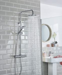Buzz Wallmount 12 shower