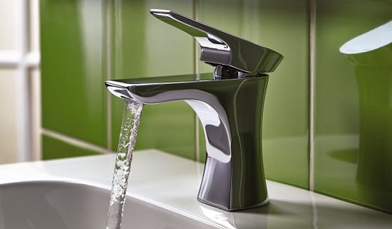 An photo of a Bristan Hourglass Basin Mixer