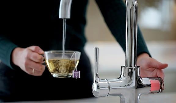 Boiling Water Taps - Making Tea