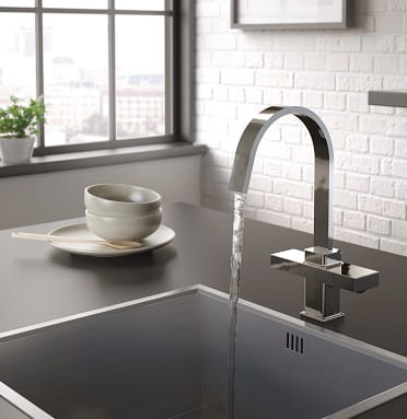 A Bristan Chocolate Easyfit Kitchen Tap